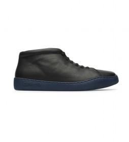 Zapatillas de piel Peu Toruring  negro