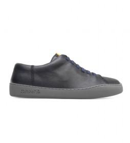 Zapatillas de piel Peu Touring negro