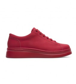 Zapatillas de piel Runner Up rojo