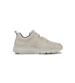 Zapatillas de piel Drift beige