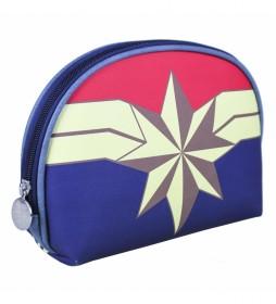Neceser Set Aseo/viaje Captain Marvel marino - 22.5x15.5x5.0cm-