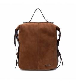 Mochila 086588 marrón -32x27x14cm-