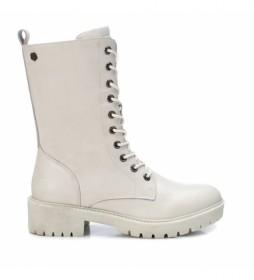 Botas de piel 068192 hielo