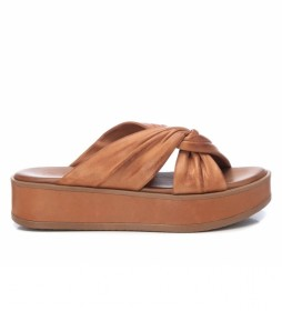 Sandalia de piel 067839