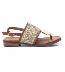 Sandalias Piel Carmelia 067854 marrón