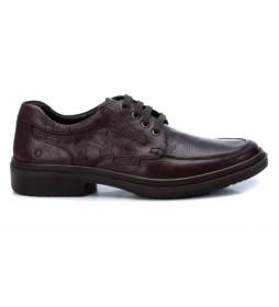 Zapatos de piel     067505 marrón