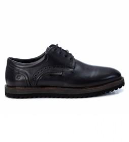 Zapatos de piel 067515 negro
