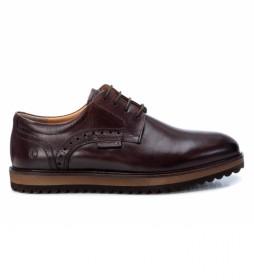 Zapatos de piel    067515 marrón
