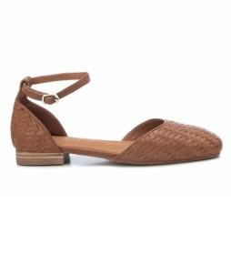 Sandalias Bailarinas 067659 marrón