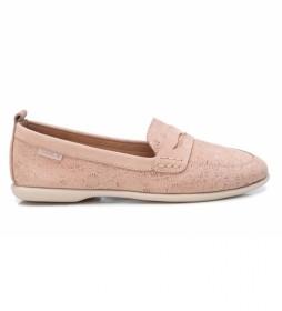 Zapatos de piel 067693 nude