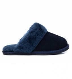 Zapatillas de casa 068188 azul
