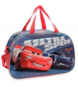 Bolsa de viaje Cars Ultra Speed frontal 3D -45x28x21cm-