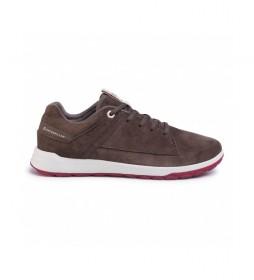 Zapatillas de piel Quest marrón