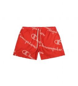 Bañador Beachshort 214445 rojo