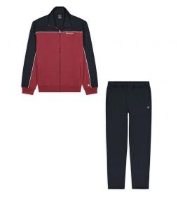 Chándal Full Zip Suit rojo, negro
