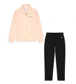 Chándal Full Zip Suit rosa, negro