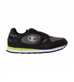 Zapatillas Low Cut RR Champ Mix negro, verde