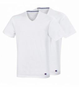 Pack de 2 camisetas V Neck Champion