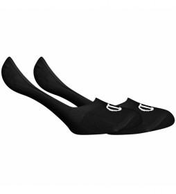 Pack de 2 pares de calcetines pinky One Color negro