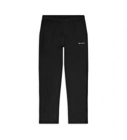 Pantalón Deportivo Straight negro