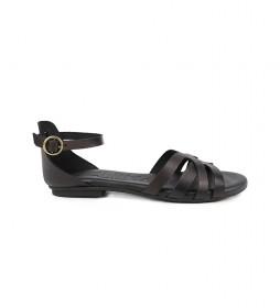 Sandalias de piel Amazona 14 negro