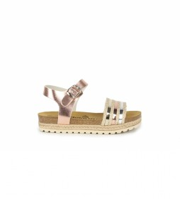 Sandalias de piel Aslei 02 rosa