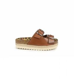 Sandalias de piel Astrid 04 cuero