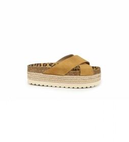 Sandalias de piel  Astrid 05 cuero