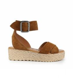 Sandalias de piel Athenea 01 cuero