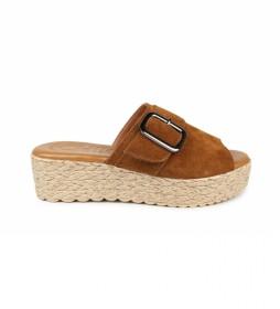 Sandalias de piel Athenea 04 cuero