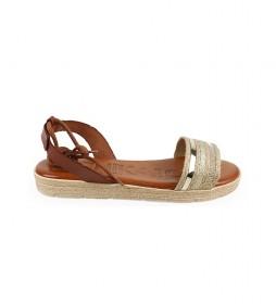 Sandalias de piel Beznar 02 natural