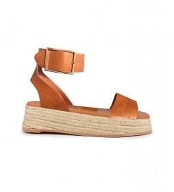 Sandalias de piel Bonita 04 cuero