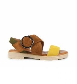 Sandalias de piel Bulma 04 multicolor