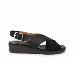 Sandalias de piel Filipinas 14 negro