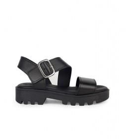 Sandalias de piel Marion 02 negro