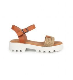 Sandalias de piel Marion 03 natural