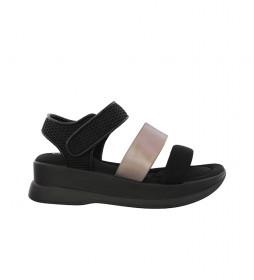 Sandalias New Agora 10 negro -Altura plataforma: 5cm-