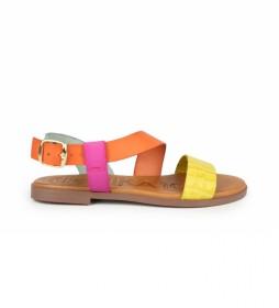 Sandalias de piel Nicol 05 multicolor
