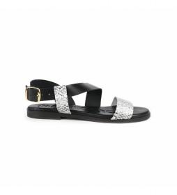 Sandalias de piel Nicol 05 negro