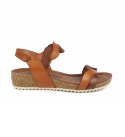 Sandalias de piel Orbita 04 cuero -altura cuña: 7cm-