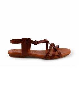 Sandalias de piel Orinoco 08 cuero