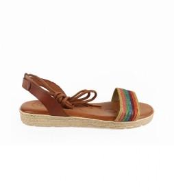 Sandalias de piel Beznar 02 cuero