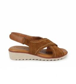 Sandalias de piel New filipinas 03 marrón