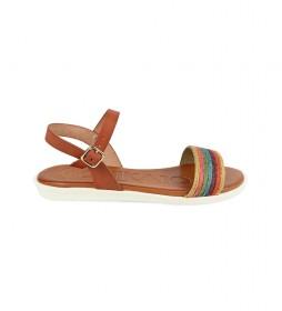 Sandalias de piel Talara 03 cuero