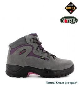Chiruca Botas de piel hidrofugada Massana Gore-Tex gris, lila -475g-