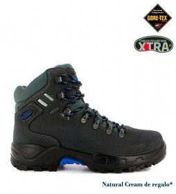 Chiruca Botas de piel hidrofugada Somiedo Gore-Tex gris -673g-