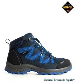 Chiruca Botas de piel hidrofugada Troll azul Gore-Tex  -256g-