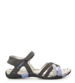 Chiruca Sandalias Malibu gris, lila -145g-