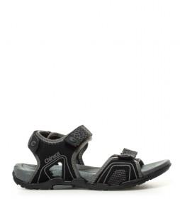 Chiruca Sandalias Barbados negro, gris -271g-