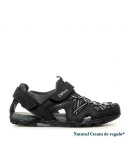 Chiruca Sandalias de piel Timor negro, gris -318g-